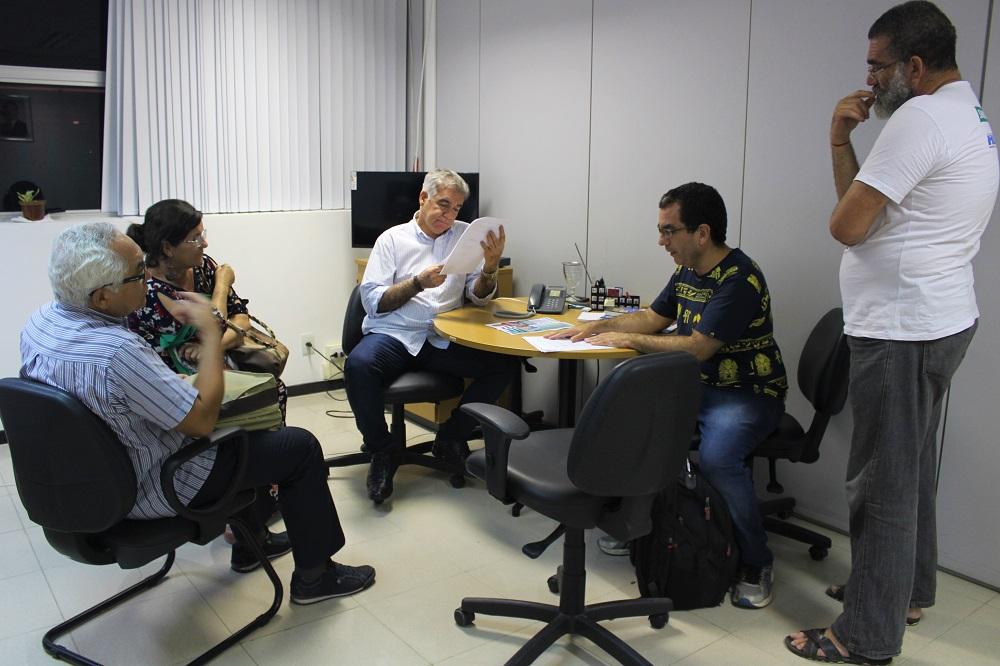 ADs se reúnem com o líder do governo. Foto: Ascom Fórum das ADs