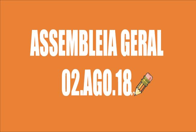 EDITAL DE CONVOCAÇÃO DE ASSEMBLEIA EXTRAORDINÁRIA - 2 DE AGOSTO DE 2018