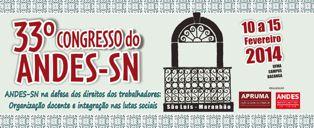 33º Congresso do ANDES-SN São Luís-MA