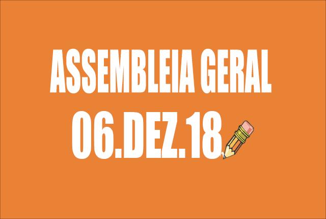 EDITAL DE CONVOCAÇÃO DE ASSEMBLEIA EXTRAORDINÁRIA - 6 DE DEZEMBRO DE 2018
