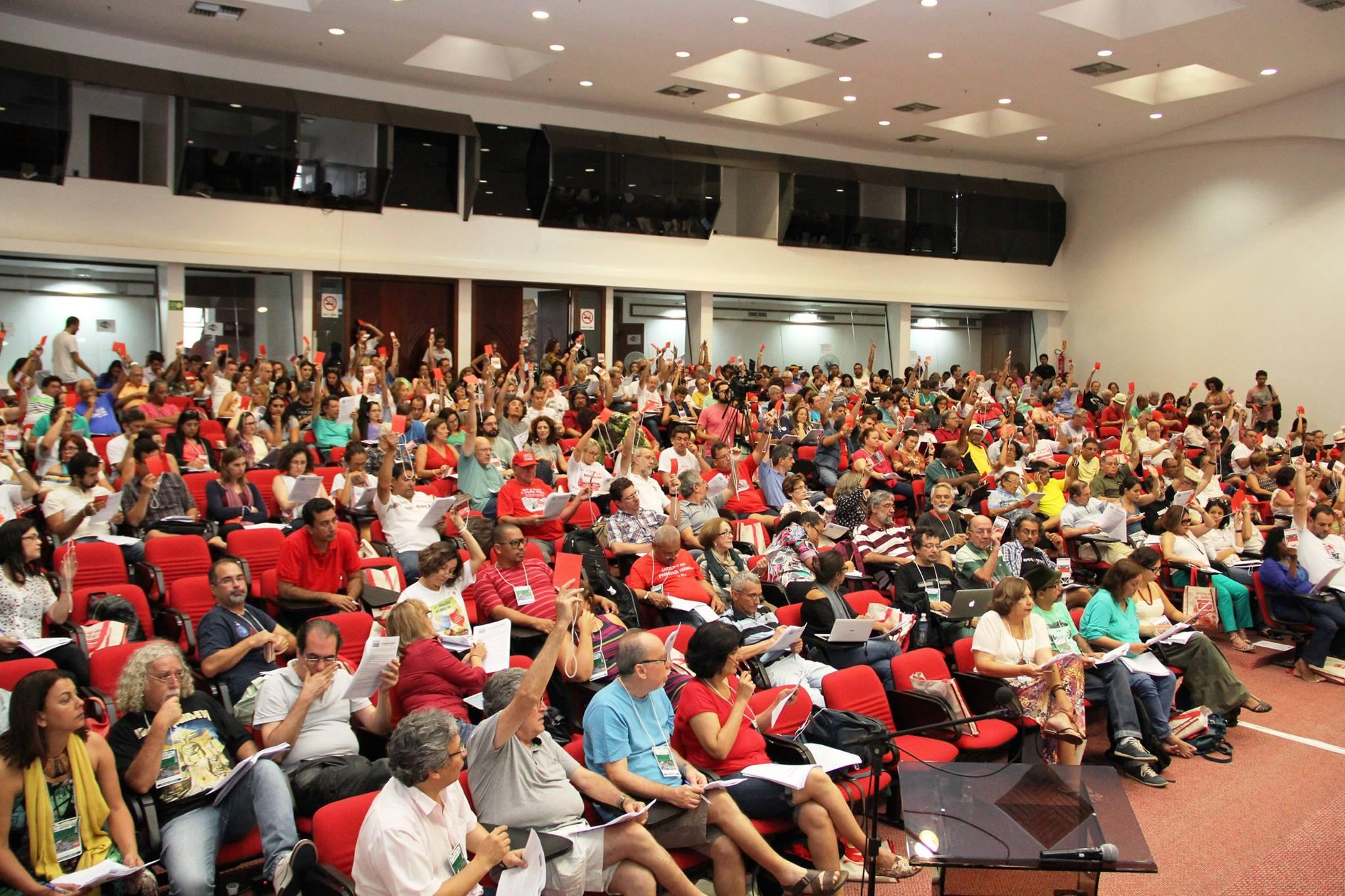 34º Congresso do ANDES-SN: Adusb participa da aprovação da centralidade da luta 2015