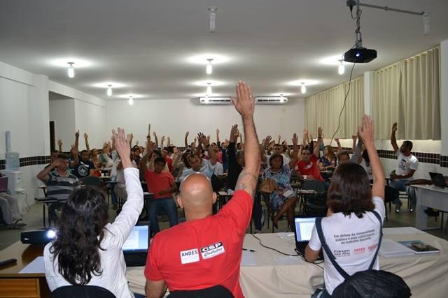 Assembleia defende fortalecimento da greve e aprova agenda de mobilização