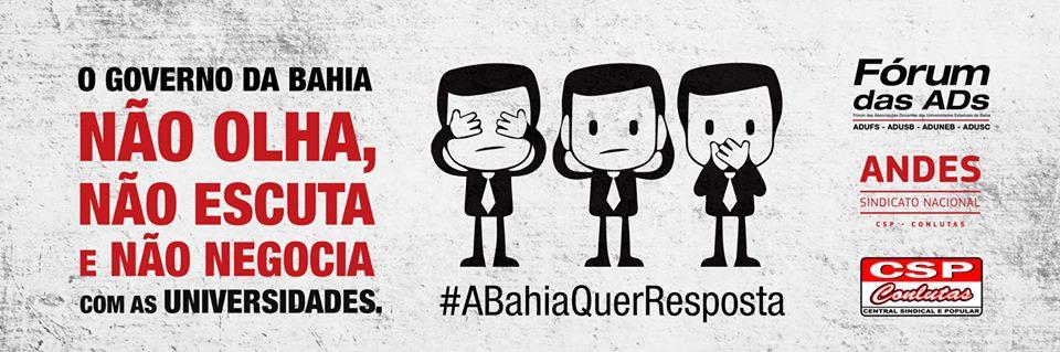 Greve nas Universidades Estaduais da Bahia: a luta contra o sucateamento