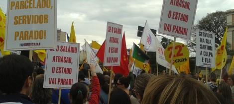 Após o agitado Dia da Indignação, luta dos servidores continua firme no Rio Grande do Sul