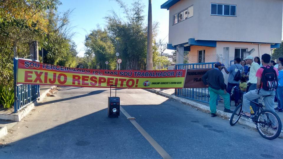 O desrespeito aos trabalhadores terceirizados continua na UESB