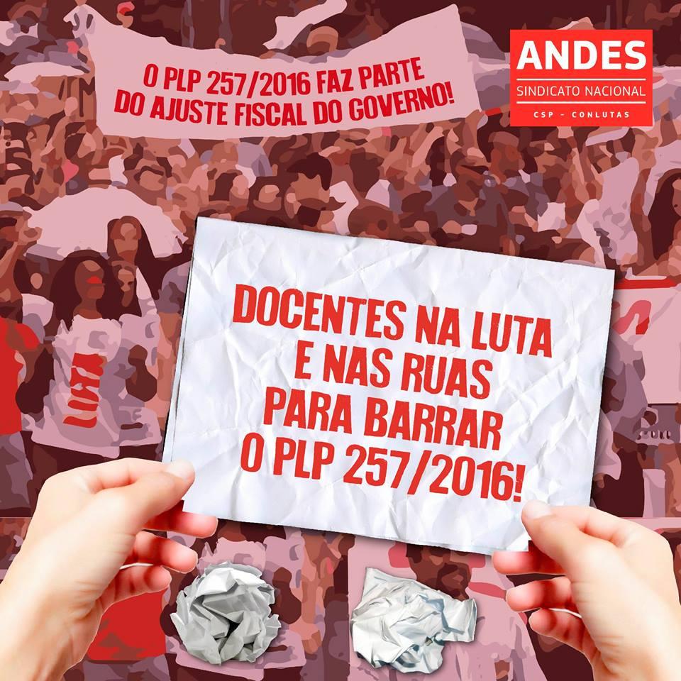 PLP 257: Contribua com a luta e envie carta da Auditoria Cidadã aos parlamentares