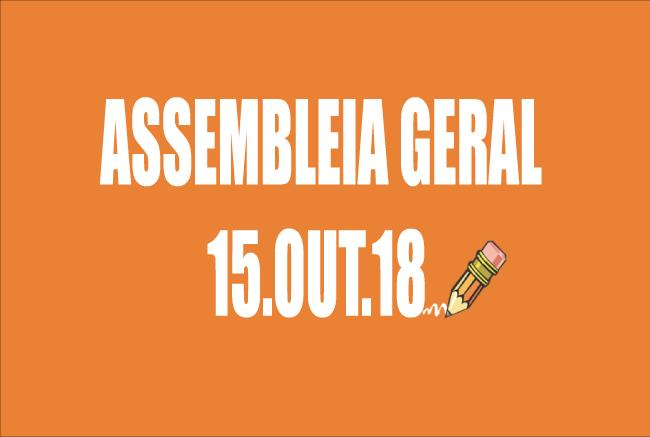 EDITAL DE CONVOCAÇÃO DE ASSEMBLEIA EXTRAORDINÁRIA - 15 DE OUTUBRO DE 2018