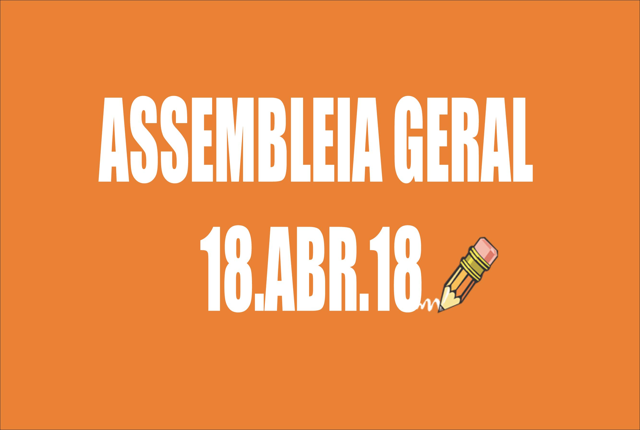 EDITAL DE CONVOCAÇÃO DE ASSEMBLEIA EXTRAORDINÁRIA - 18 DE ABRIL DE 2018