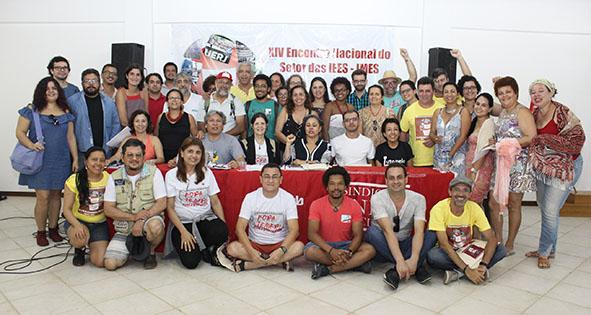 XIV Encontro Nacional do Setor das IEES/IMES aponta para a construção da greve geral