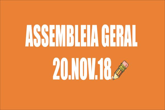 EDITAL DE CONVOCAÇÃO DE ASSEMBLEIA EXTRAORDINÁRIA - 20 DE NOVEMBRO DE 2018