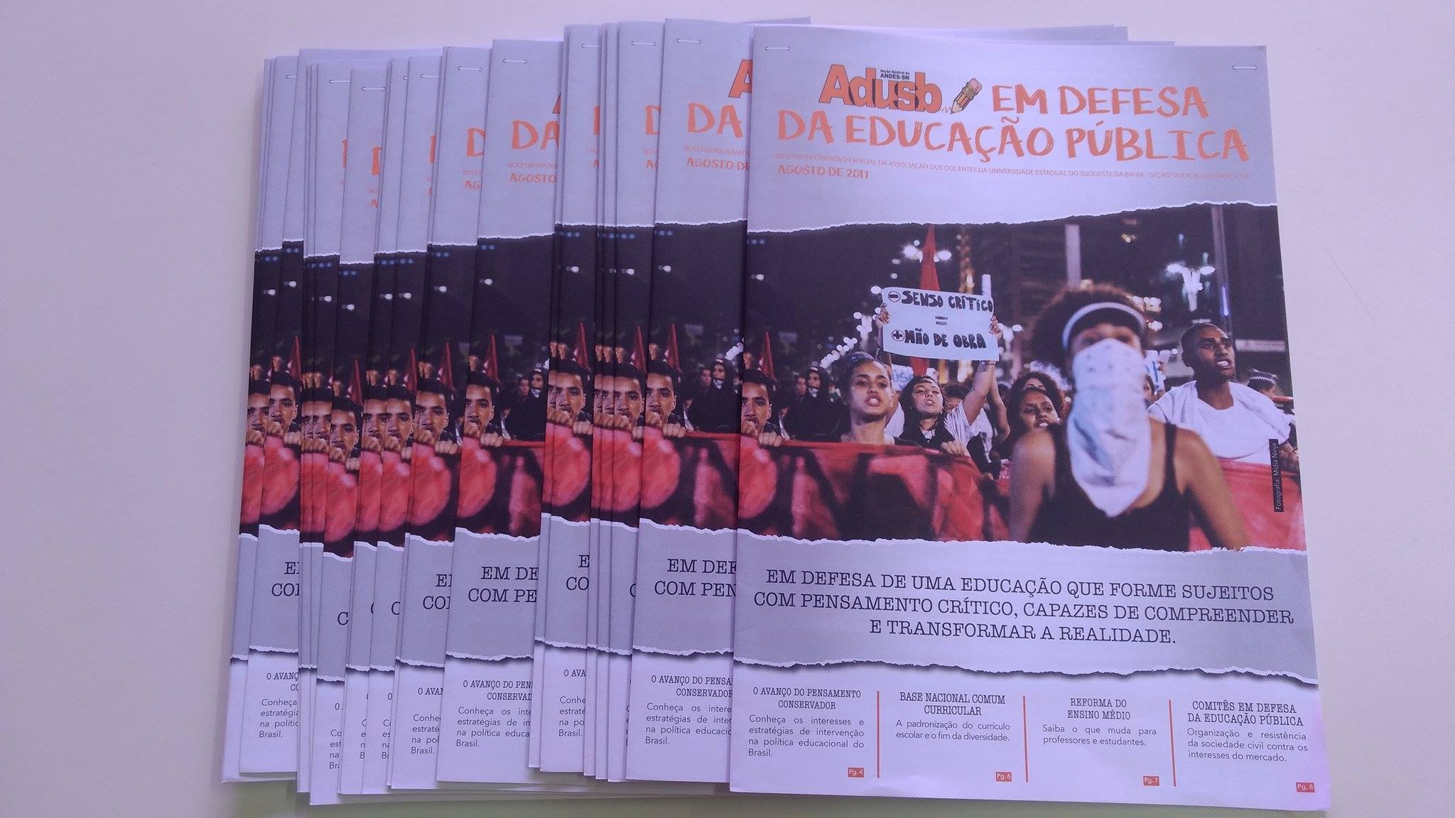 Adusb lança Boletim Especial sobre avanço do conservadorismo na educação