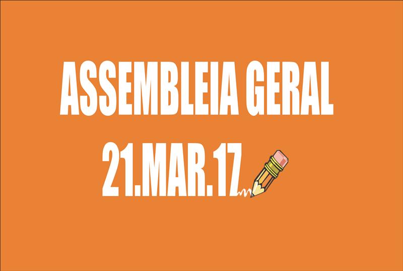 Retificação do Edital de convocação de Assembleia Geral Extraordinária - 21 de março de 2017