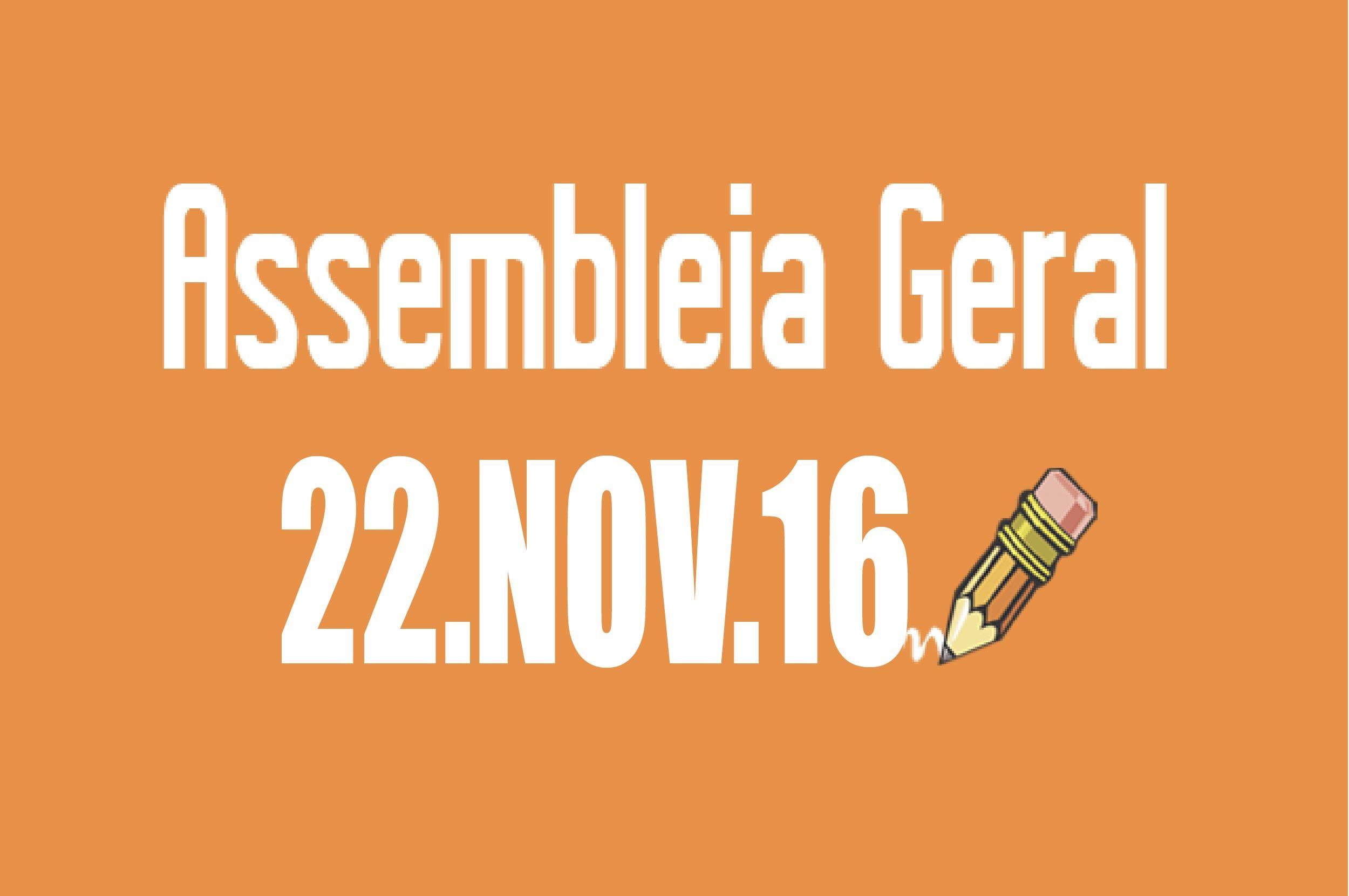 EDITAL DE CONVOCAÇÃO DE ASSEMBLEIA EXTRAORDINÁRIA - 22 DE NOVEMBRO DE 2016