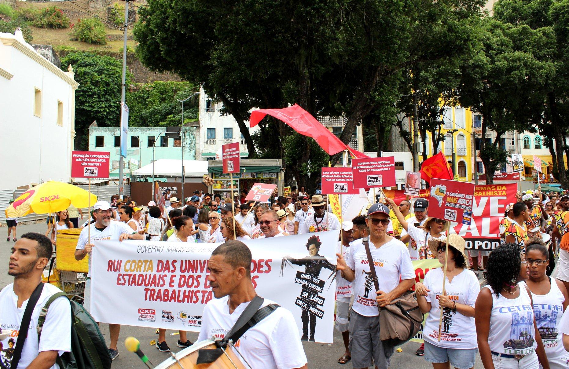 ICMS cresce na Bahia, mas 188 professores da Uesb continuam com direitos desrespeitados
