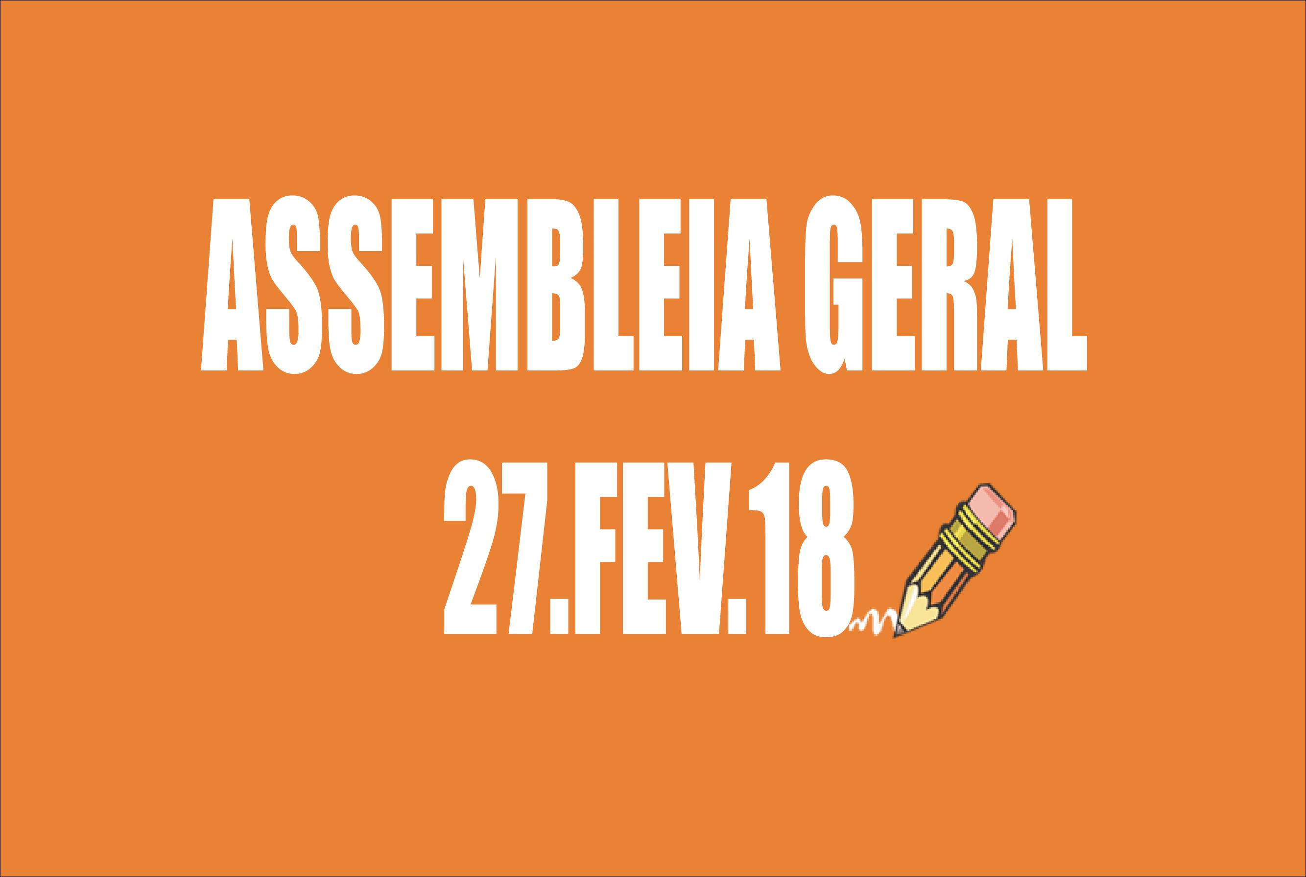 EDITAL DE CONVOCAÇÃO DE ASSEMBLEIA EXTRAORDINÁRIA - 27 DE FEVEREIRO DE 2018