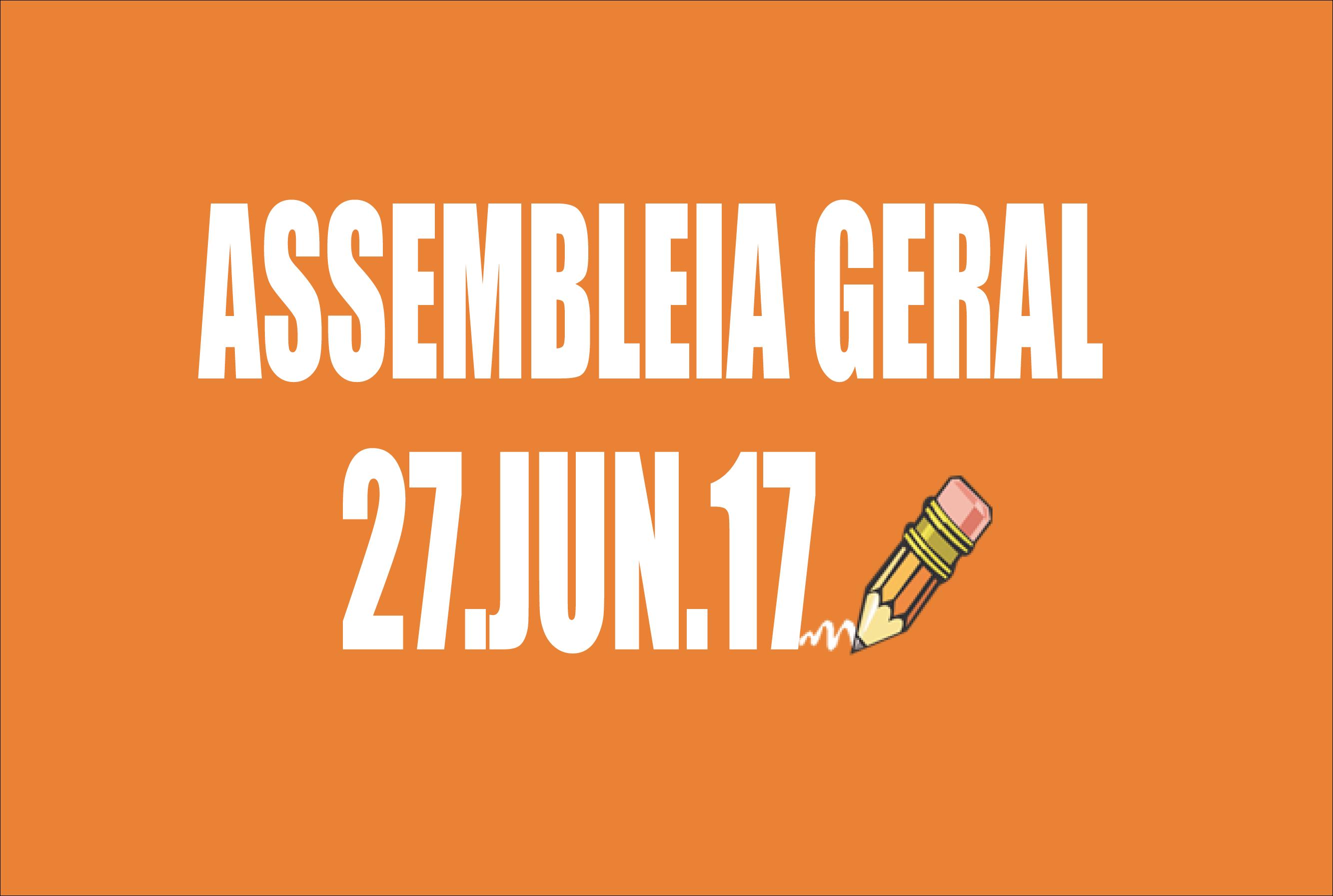 EDITAL DE CONVOCAÇÃO DE ASSEMBLEIA EXTRAORDINÁRIA - 27 DE JUNHO DE 2017