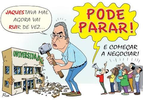 Governo coloca em risco a manutenção das atividades acadêmicas nas  Universidades Estaduais da Bahia