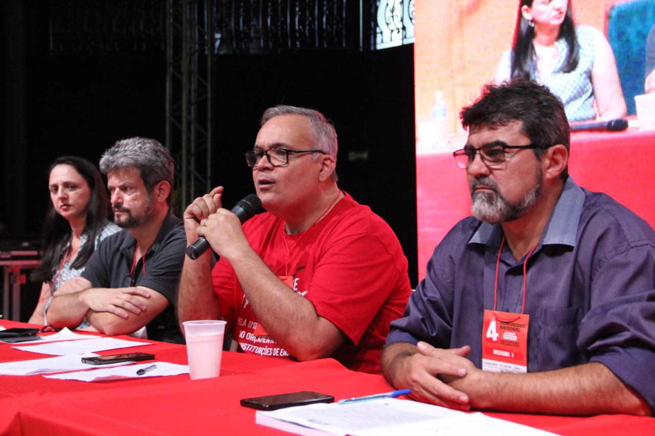 """ANDES-SN apresenta tese sobre """"Os desafios da conjuntura e a organização da Classe Trabalhadora"""" no IV Congresso da CSP-Conlutas"""