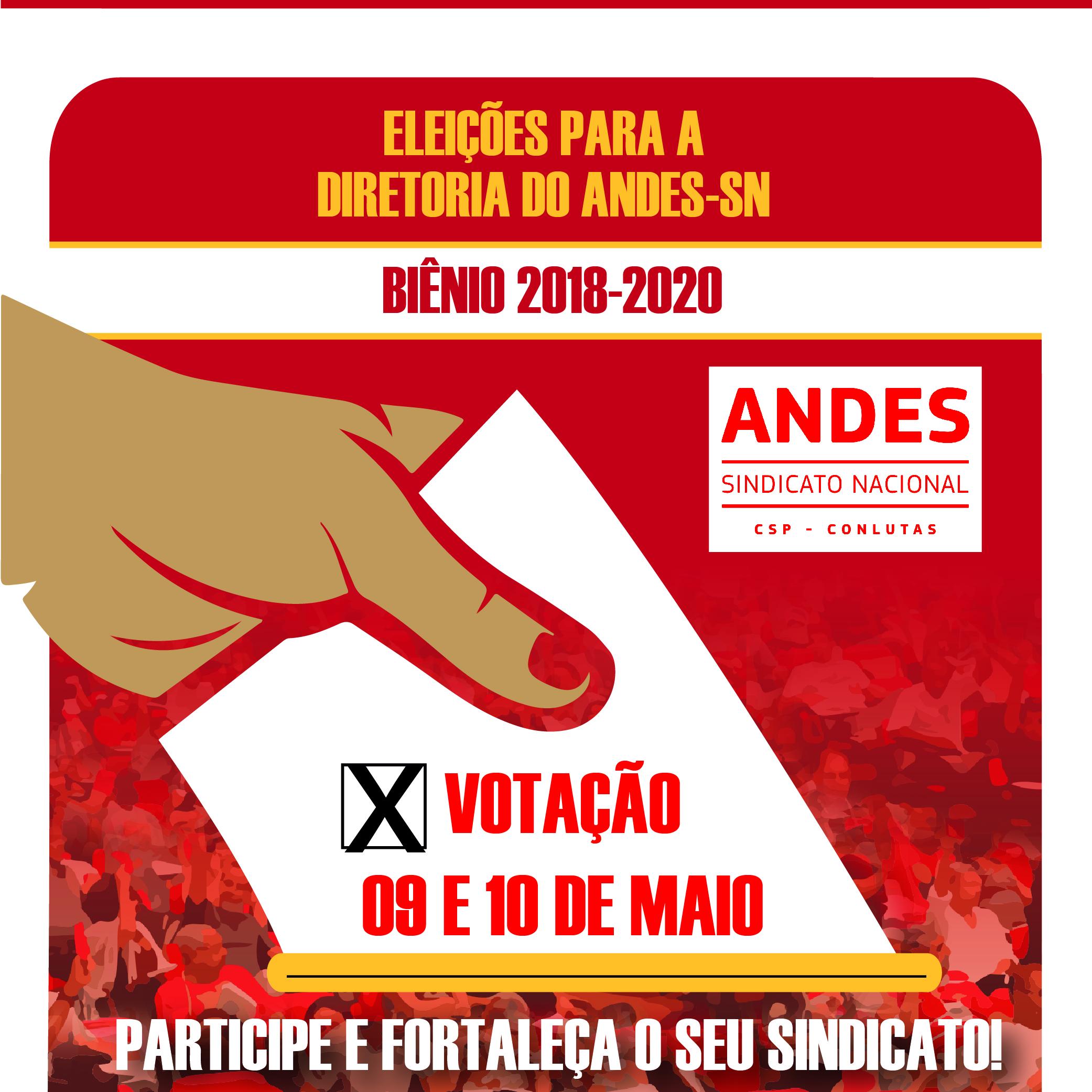 Eleições do Andes: Saiba mais sobre as candidaturas