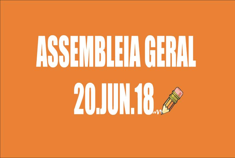 EDITAL DE CONVOCAÇÃO DE ASSEMBLEIA EXTRAORDINÁRIA - 20 DE JUNHO DE 2018