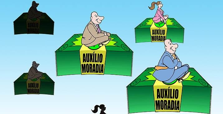 Governo quer tirar da previdência para manter privilégios dos seus: auxílio-moradia custa R$ 817 milhões à União