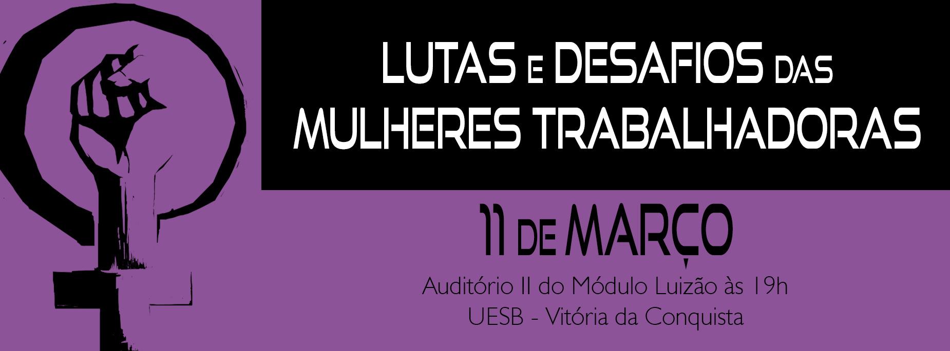 Adusb promove evento sobre lutas e desafios das mulheres trabalhadoras