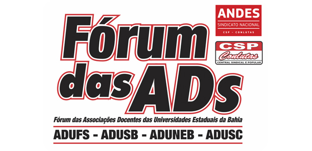 Fórum das ADs cobra providências dos deputados e agendamento de audiência sobre a crise orçamentária