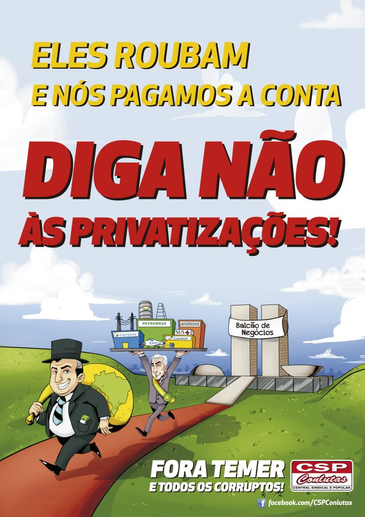 Plano de privatizações de Bolsonaro prepara liquidação de estatais e o povo vai pagar a conta