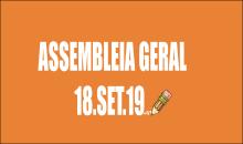 EDITAL DE CONVOCAÇÃO DE ASSEMBLEIA EXTRAORDINÁRIA - 18 DE SETEMBRO DE 2019