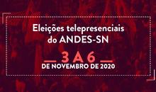 Eleições ANDES-SN 2020: Materiais de campanha 20/10/2020