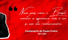 100 anos de Paulo Freire: Patrono da Educação Brasileira