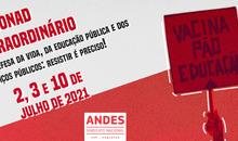 12º Conad Extraordinário do ANDES-SN acontecerá no mês de julho