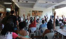 Assembleia docente da ADUSC aprova estado de greve