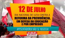Sexta (12) é dia de luta contra a Reforma da Previdência: tem ato em Brasília e protestos pelo país