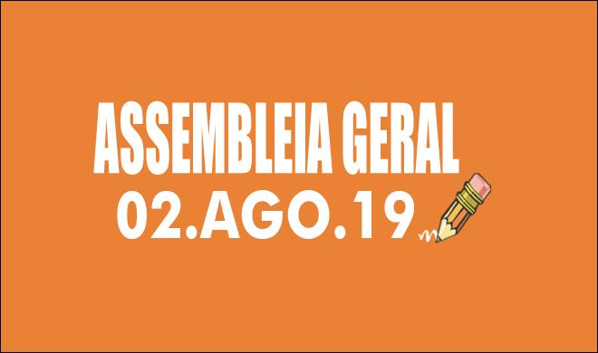 EDITAL DE CONVOCAÇÃO DE ASSEMBLEIA EXTRAORDINÁRIA - 02 DE AGOSTO DE 2019