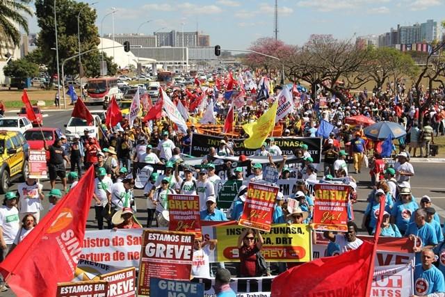 Trabalhadores realizarão Jornada de Lutas em Brasília de 12 a 14 de setembro