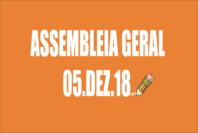 RETIFICAÇÃO DE EDITAL DE CONVOCAÇÃO DE ASSEMBLEIA EXTRAORDINÁRIA - 5 DE DEZEMBRO DE 2018