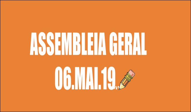 EDITAL DE CONVOCAÇÃO DE ASSEMBLEIA EXTRAORDINÁRIA - 6 DE MAIO DE 2019