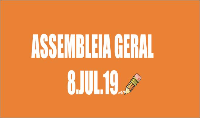 RETIFICAÇÃO DO EDITAL DE CONVOCAÇÃO DE ASSEMBLEIA EXTRAORDINÁRIA - 8 DE JULHO DE 2019