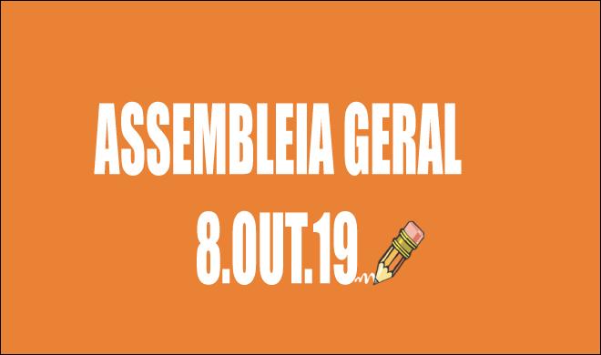 EDITAL DE CONVOCAÇÃO DE ASSEMBLEIA EXTRAORDINÁRIA - 8 DE OUTUBRO DE 2019