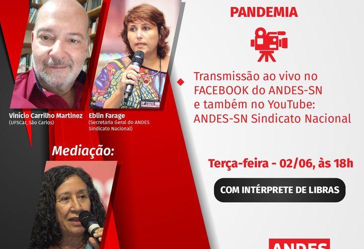 Transmissão ao vivo: EAD, trabalho remoto e a precarização do trabalho docente na pandemia