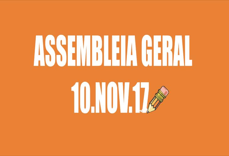 EDITAL DE CONVOCAÇÃO DE ASSEMBLEIA EXTRAORDINÁRIA - 10 DE NOVEMBRO DE 2017
