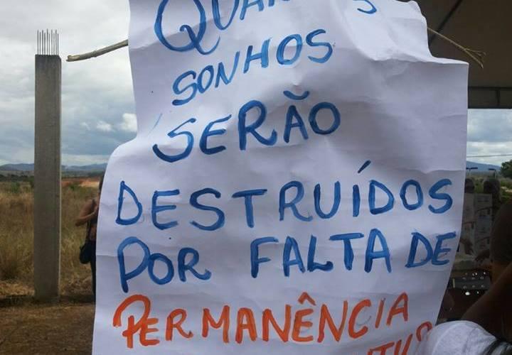 Estudantes do campus de Itapetinga reivindicam a construção do RU