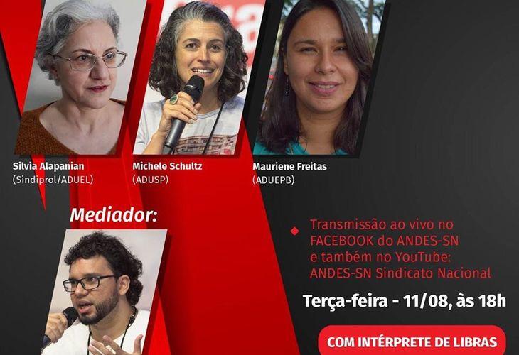 Transmissão ao vivo: Ataques à previdência nos estados e a luta em defesa dos direitos