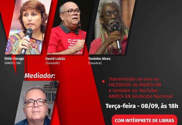 Transmissão ao vivo: Reforma Administrativa do Bolsonaro e a destruição dos Serviços Públicos