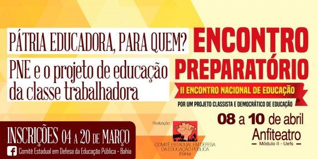 Inscrições para etapa preparatória do ENE estão abertas
