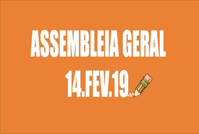 EDITAL DE CONVOCAÇÃO DE ASSEMBLEIA EXTRAORDINÁRIA - 14 DE FEVEREIRO DE 2019