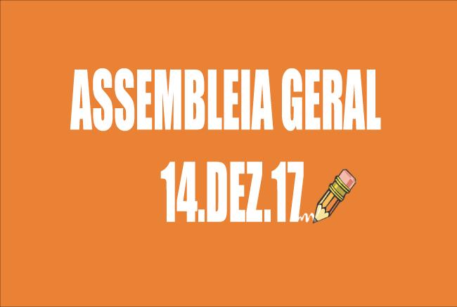 EDITAL DE CONVOCAÇÃO DE ASSEMBLEIA EXTRAORDINÁRIA - 14 DE DEZEMBRO DE 2017
