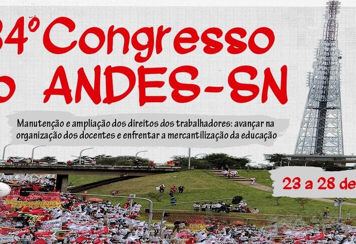 Representantes da Adusb se preparam para o 34º Congresso Nacional do Andes-SN