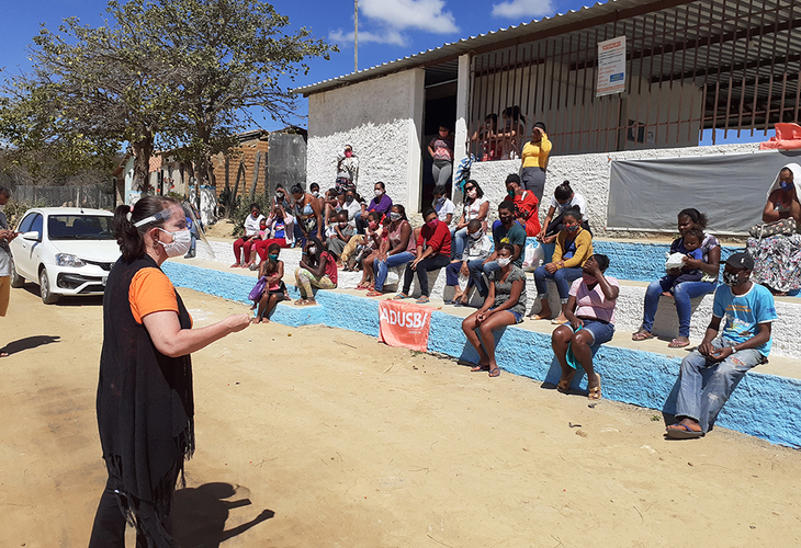 A Solidariedade Resiste: Comunidade Quilombola Lagoa de Maria Clemência recebe doações